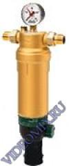 HONEYWELL F76S-3/4AAM (ABM,ACM,ADM) 100MK (20MK, 50MK, 200MK), Механические фильтры тонкой очистки с обратной промывкой Honeywell-серия F76S